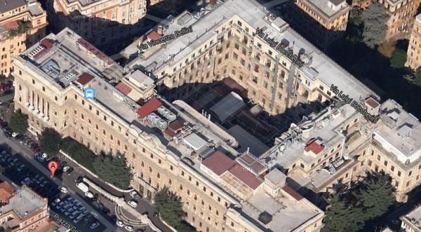 Vendita istituto poligrafico e zecca dello stato hotel for Uffici parioli